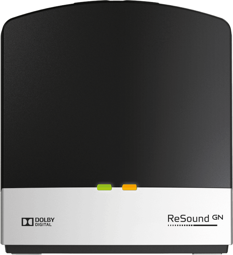 ReSound TV Streamer 2 hearing aid accessory.