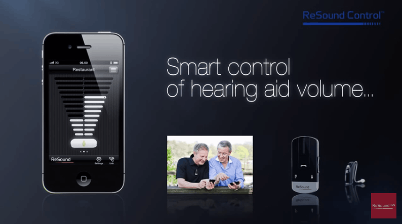 ReSound Control app video thumbnail.