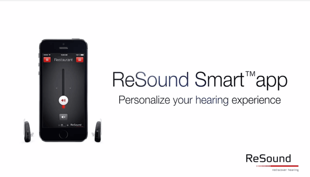 ReSound Smart app video thumbnail.