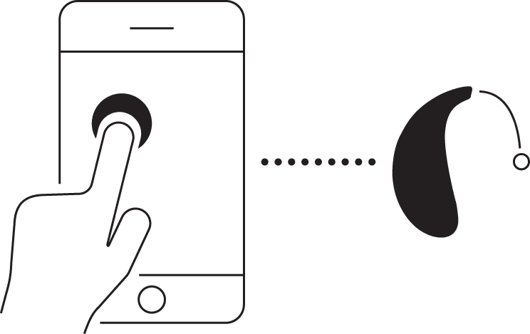 Hearing aid controls for ReSound apps