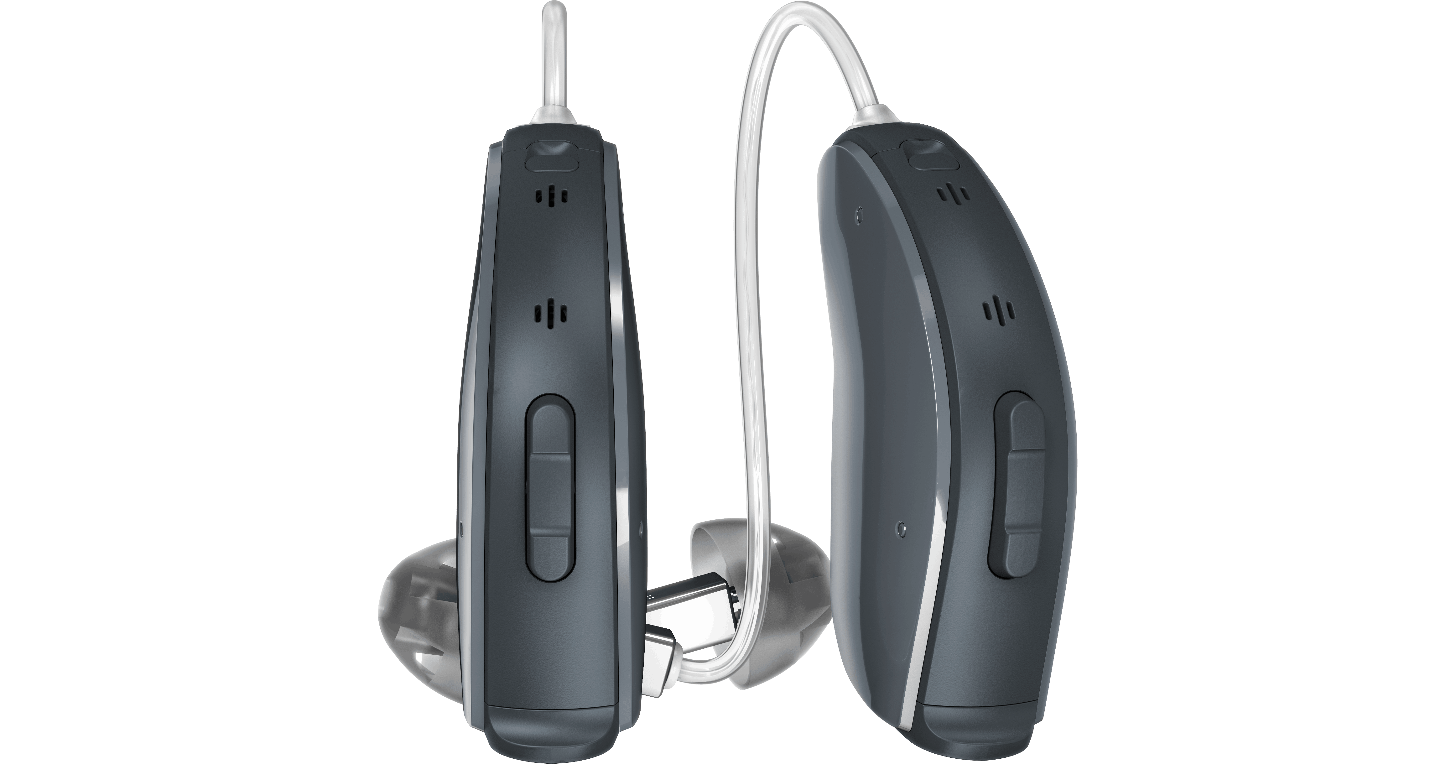 Pair of ReSound LiNX² hearing aids.