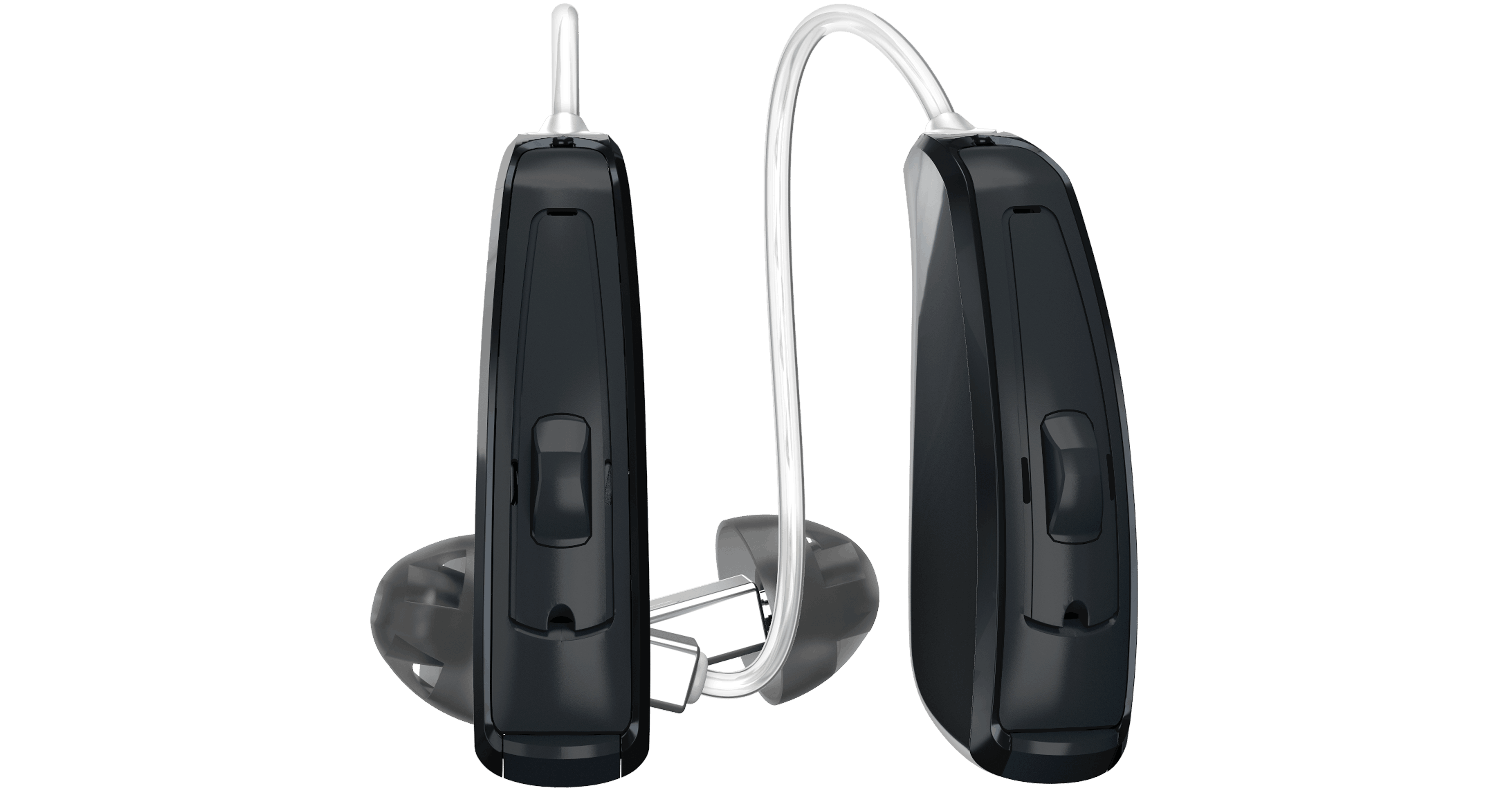 Pair of ReSound LiNX 3D hearing aids.