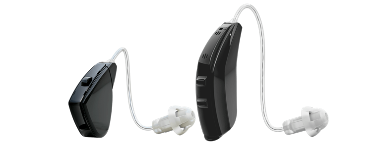 Pair of ReSound Verso hearing aids.