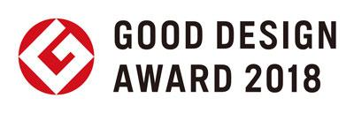 Logo of the Japanese Good Design Award 2018