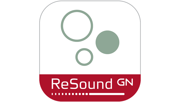 Icône de l'application ReSound Relief.