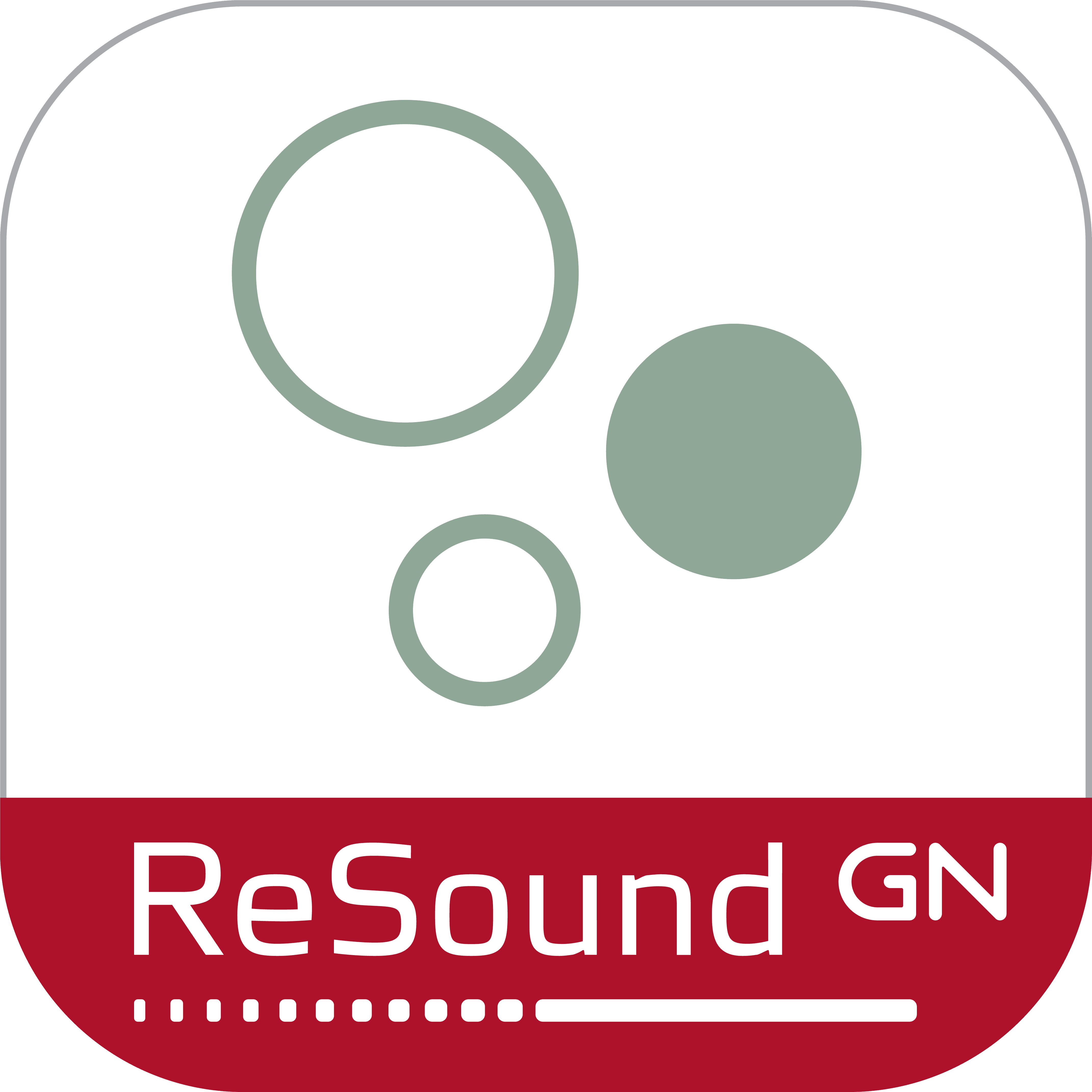 ReSound Relief app ikon.
