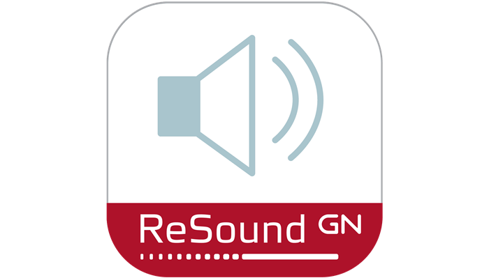 Icône de l'application ReSound Remote.