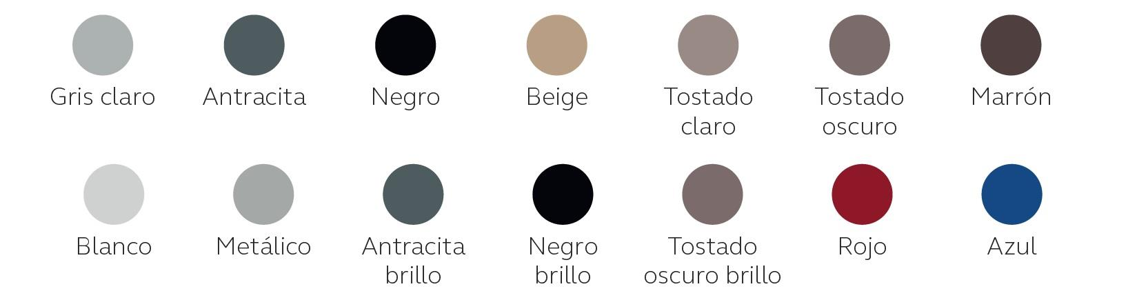 Colores disponibles para LiNX Quattro