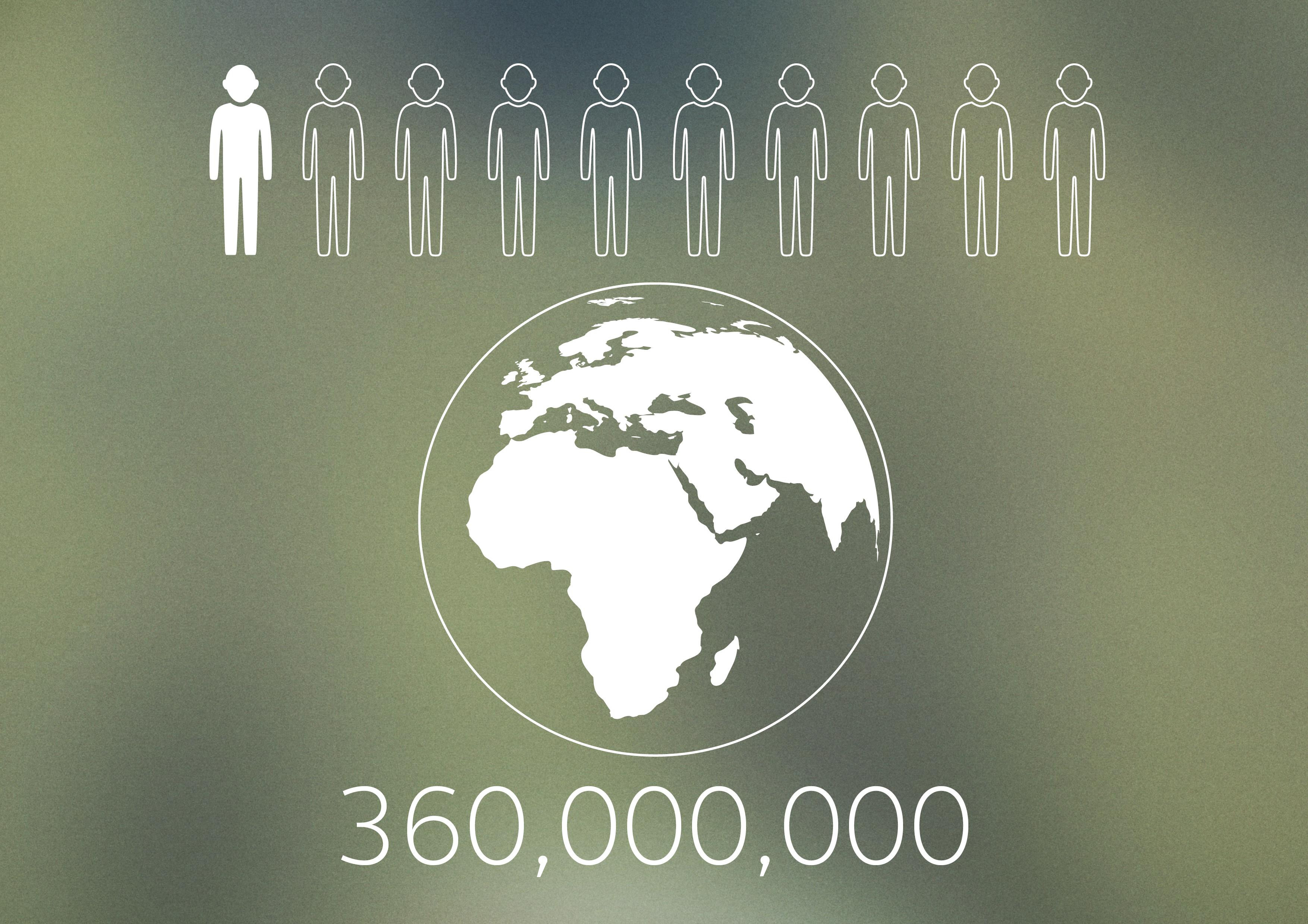 Info-graphic - population with hearing loss